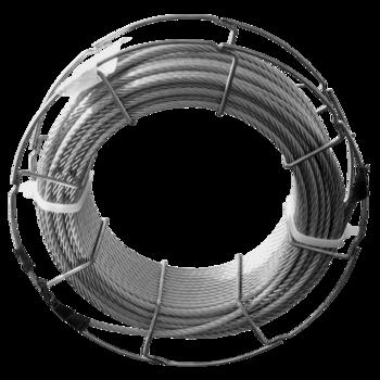 Rozsdamentes kötél 6 mm